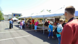 It's small but the market is fun to stop on Saturdays.